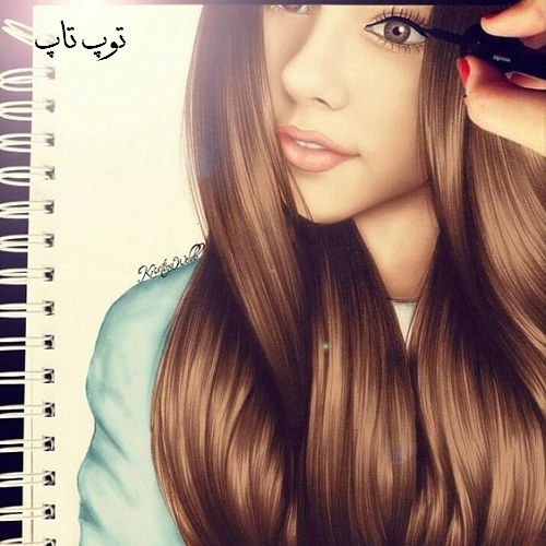 نقاشی دخترانه