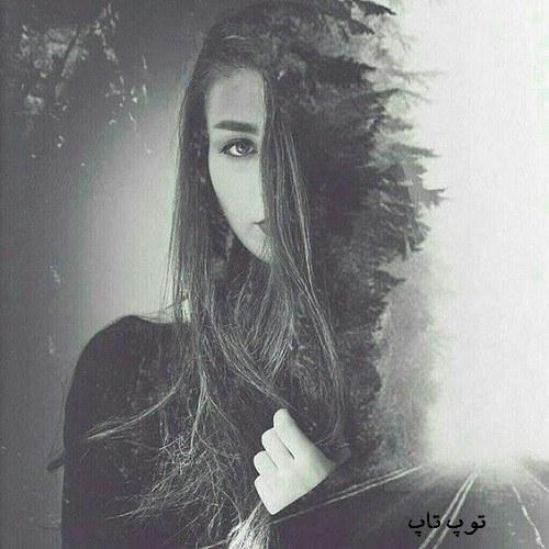 عکس دختر زیبا در یک قاب قشنگ برا پروفایل دخترونه