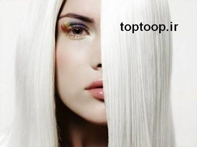 تعبیر خواب سفید شدن موی دختر جوان و زیبا