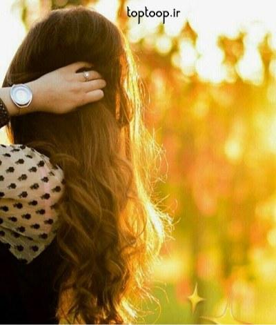 عکس پروفایل دختر مو بلند