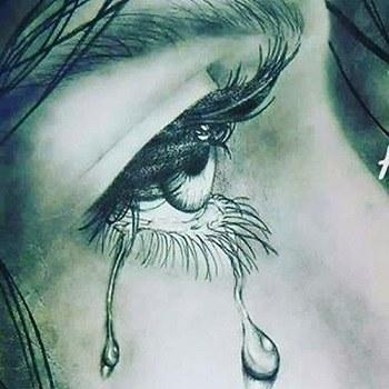 عکس گریه دار دخترانه برای پروفایل