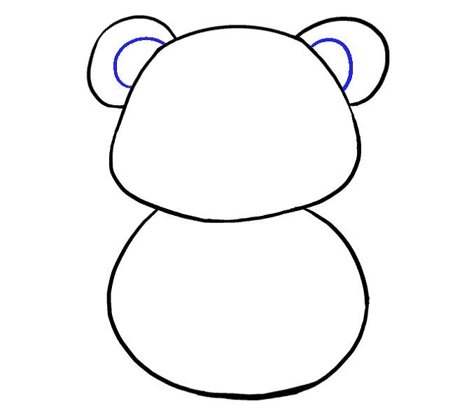 راهنمای نقاشی کودکانه پاندا