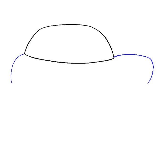 آموزش نقاشی ماشین مرحله سوم