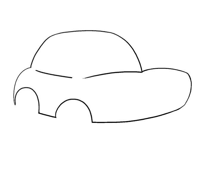 آموزش نقاشی ماشین مرحله هفتم