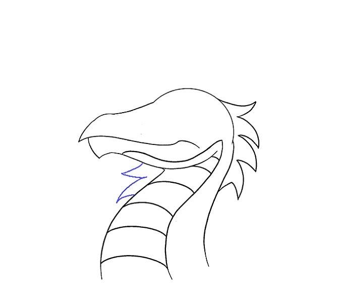 نقاشی سر اژدها مرحله دوازدهم