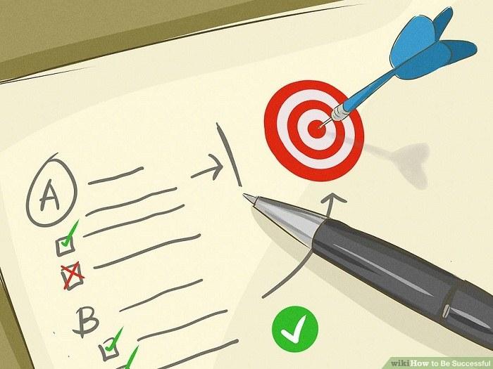 شکستن هدف به مراحل کوچک