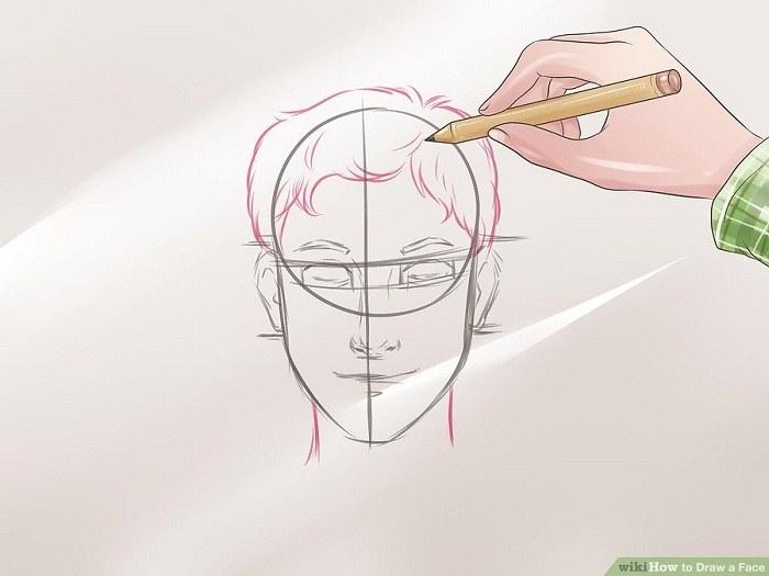 کامل کردن شکل گردن و موی سر