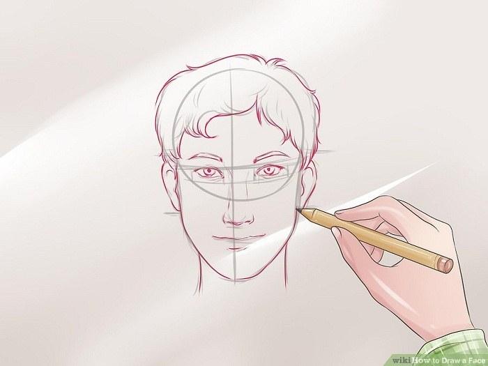 اضافه کردن جزئیات با مداد نرم و کمرنگ
