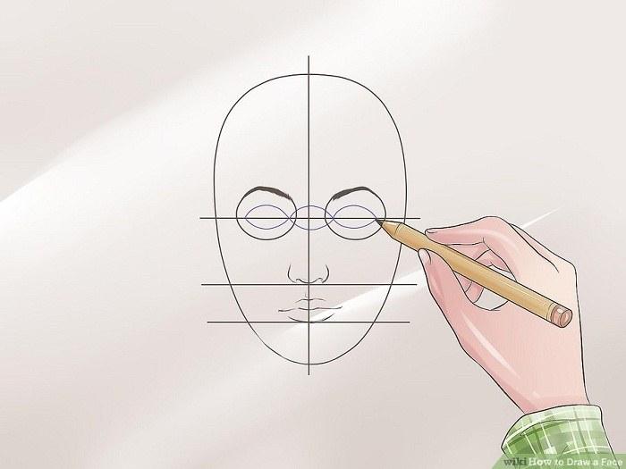 نقاشی کردن مردمک چشم