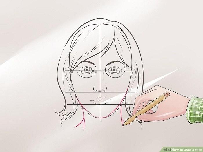 گردن را نقاشی کنید