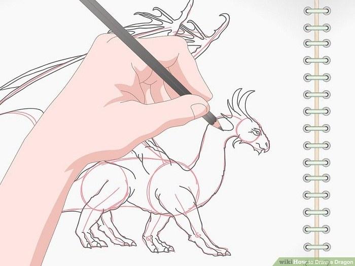 تکمیل نقاشی اژدها