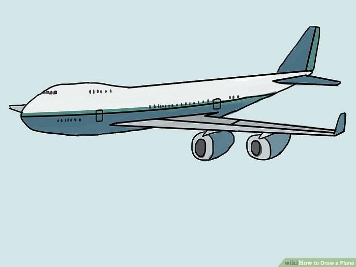 رنگ آمیزی نقاشی هواپیما