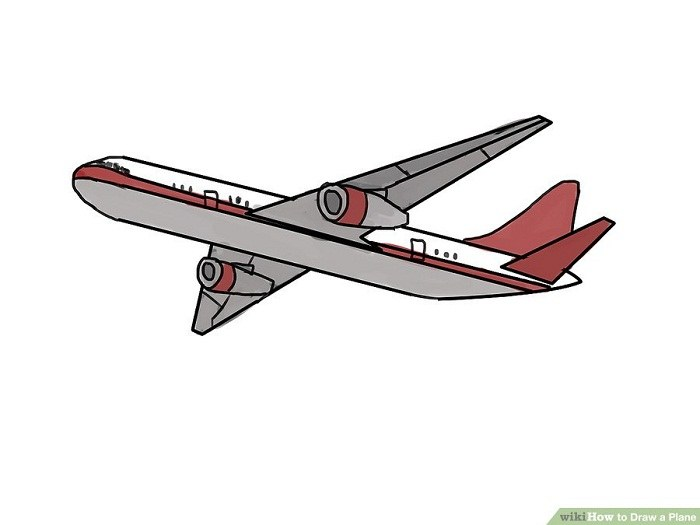 رنگ آمیزی نقاشی هواپیمای بوئینگ 787