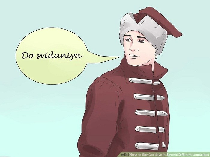 خداحافظی در زبان های اسلاوی