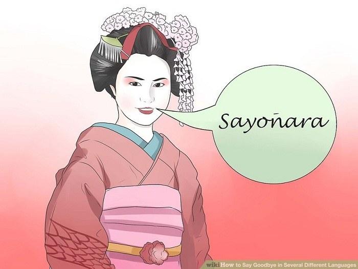 خداحافظی به زبان ژاپنی
