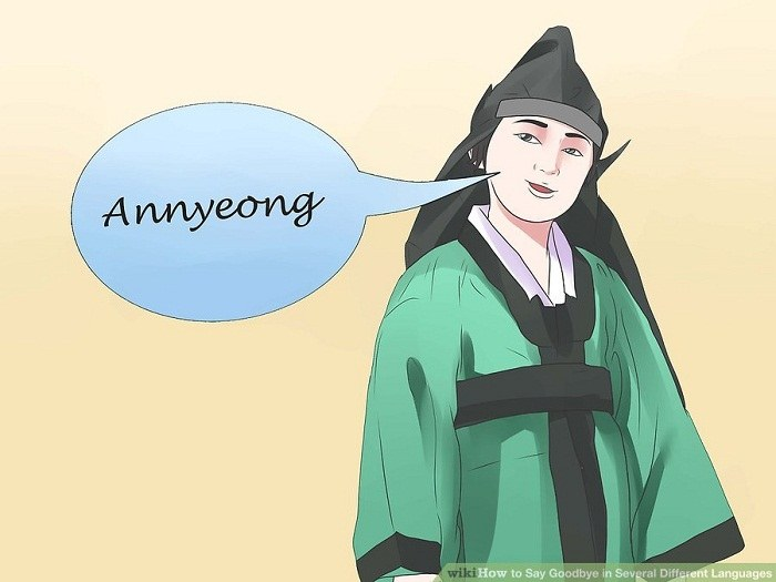 خداحافظی به زبان کره ای