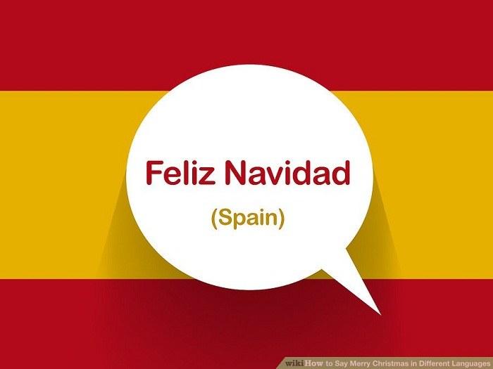 تبریک کریسمس به زبان اسپانیایی