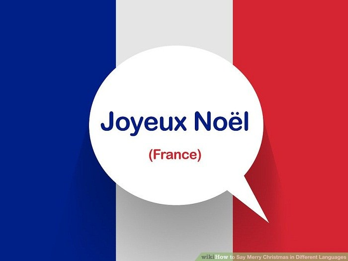 تبریک کریمس به زبان فرانسوی