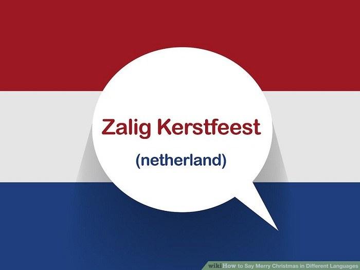 تبریک کریسمس به زبان هلندی