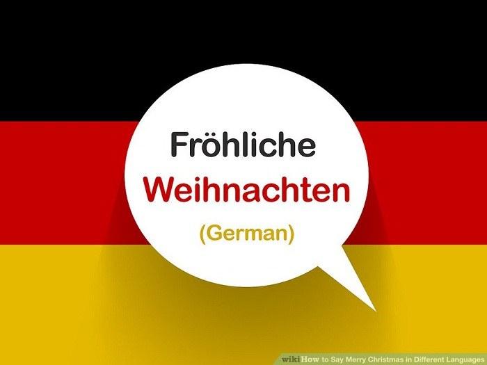 تبریک کریسمس به زبان آلمانی