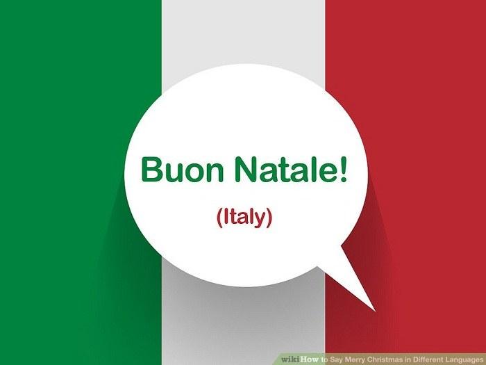 تبریک کریسمس به زبان ایتالیایی