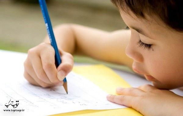 بررسی علل کند نویسی دانش آموزان