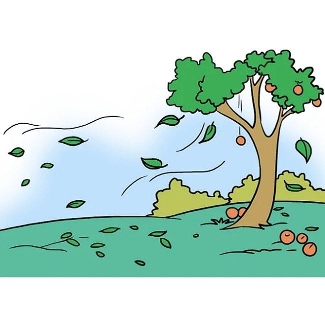 رنگ آمیزی نقاشی منظره پاییزی