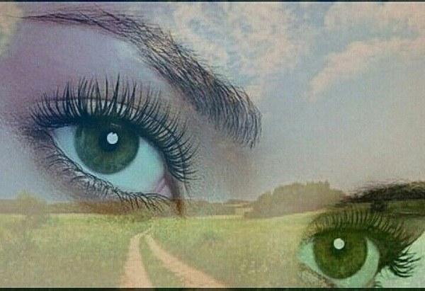 عکس دختر چشم سبز مناسب پس زمینه