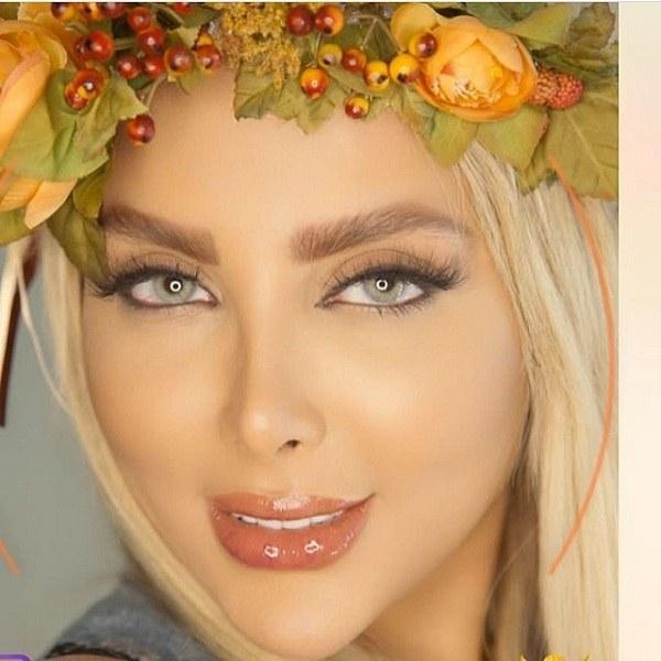 دختر چشم سبز ایرانی