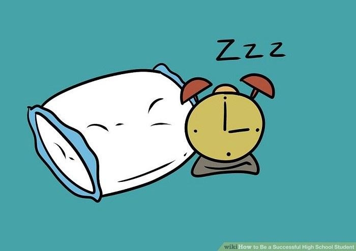 به اندازه کافی خوابیدن