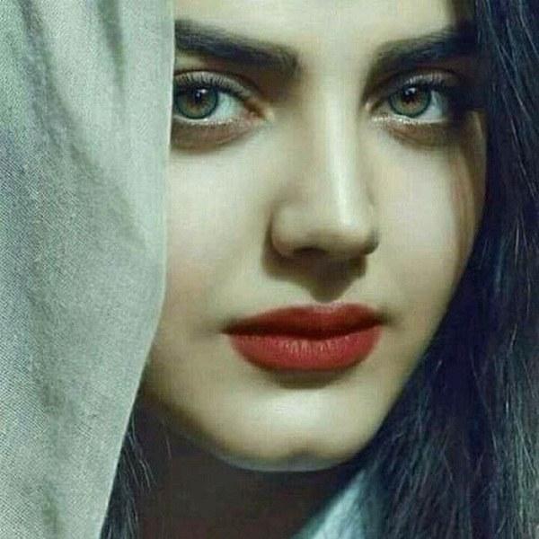 آلبوم عکس دختر چشم سبز خوشگل