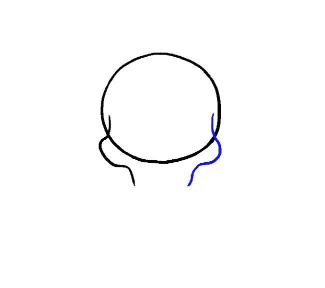 آموزش نقاشی جمجمه مرحله سوم