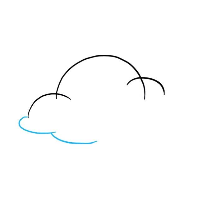 چگونه یک ابر نقاشی کنیم
