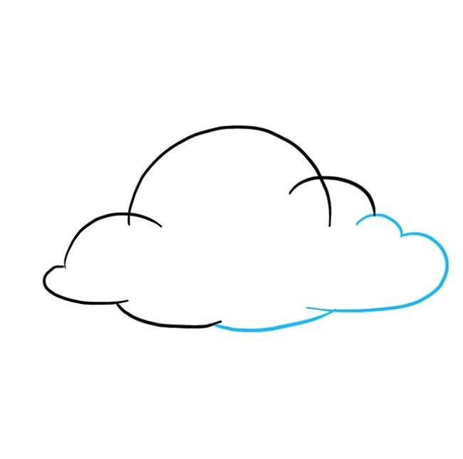 نقاشی ابر برای بچه ها