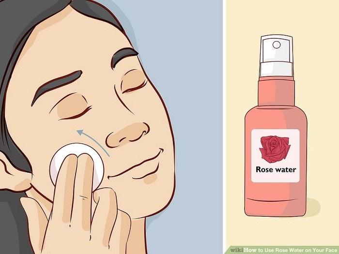 استفاده از گلاب در زمانی که پوست صورت قرمز و ملتهب است