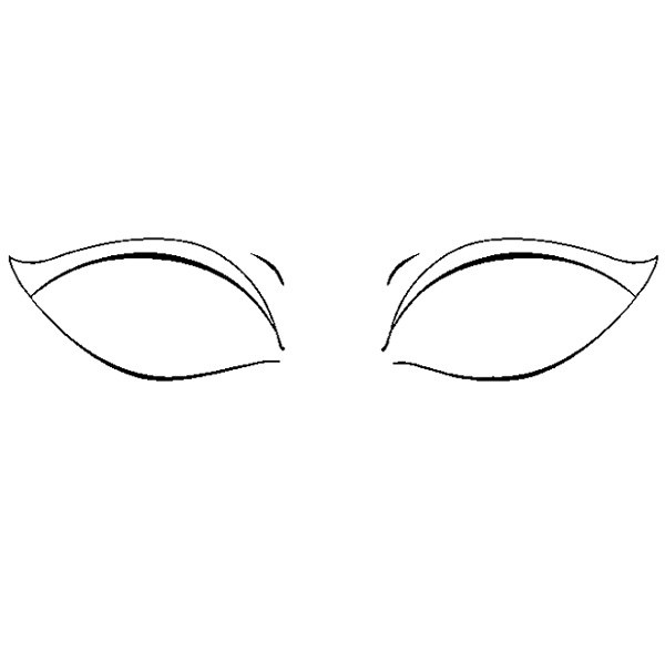 آموزش نقاشی چشم زیبا مرحله پنجم