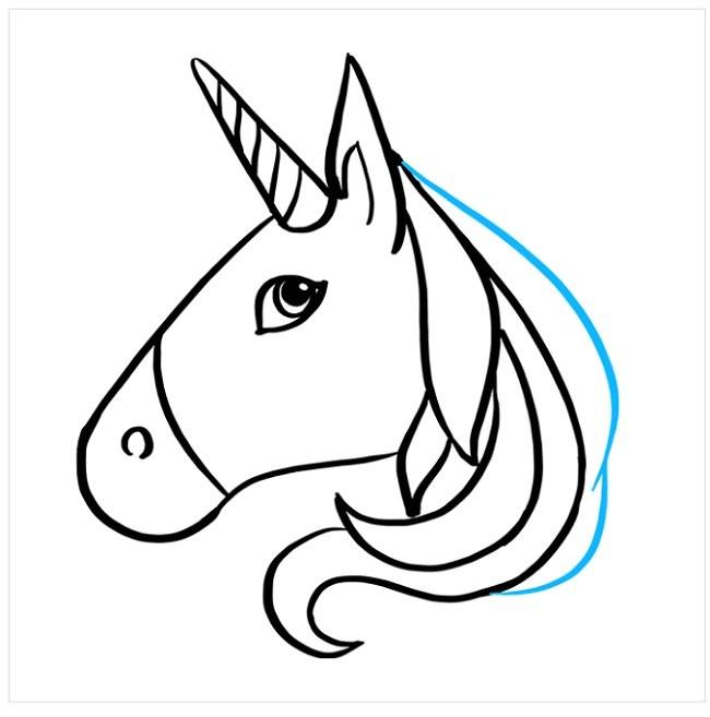 آموزش نقاشی اسب شاخدار برای بچه ها (6)