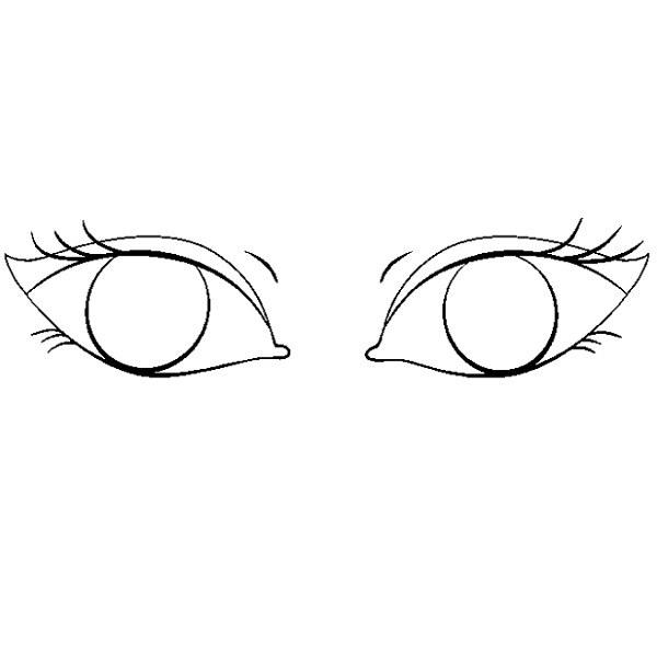 آموزش نقاشی چشم مرحله هشتم