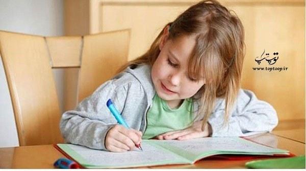 دلایل کند نویسی دانش آموزان کند نویس