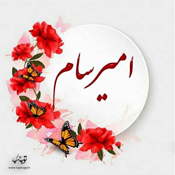 لوگوی اسم امیرسام
