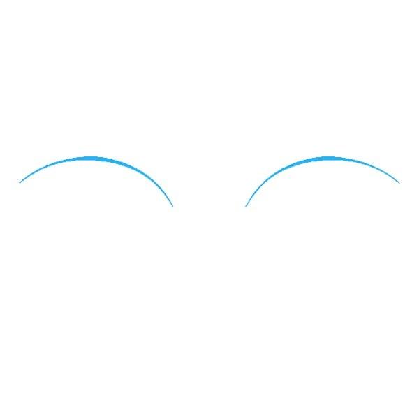 نقاشی چشم برای کودکان مرحله اول