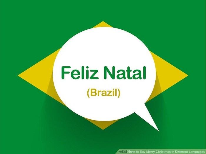تبریک کریسمس به زبان برزیلی