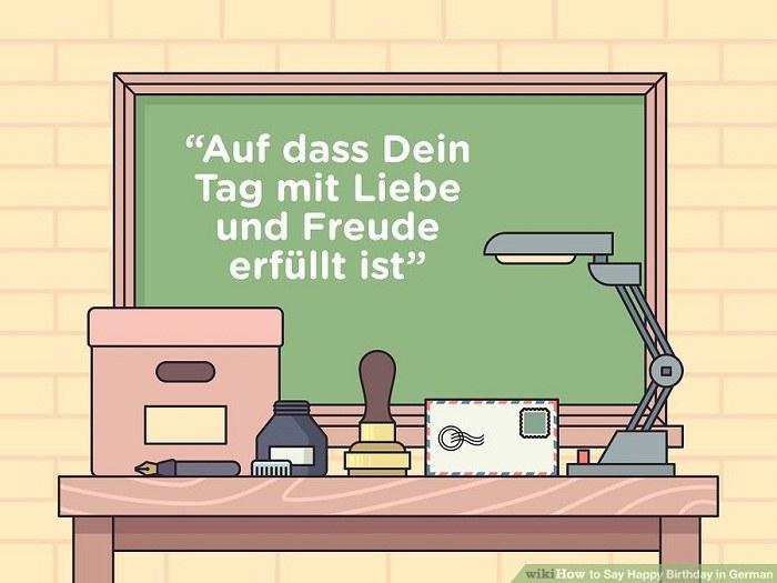 آرزوهای خلاقانه با زبان آلمانی برای تبریک تولد