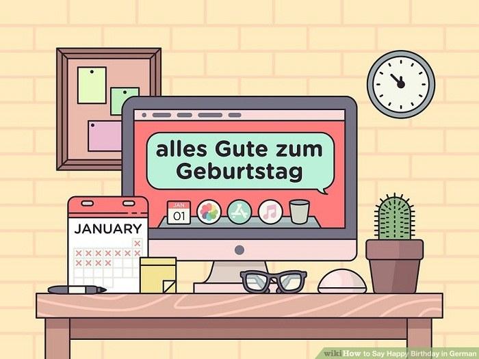 تبریک تولد به توجه به سنت های آلمانی