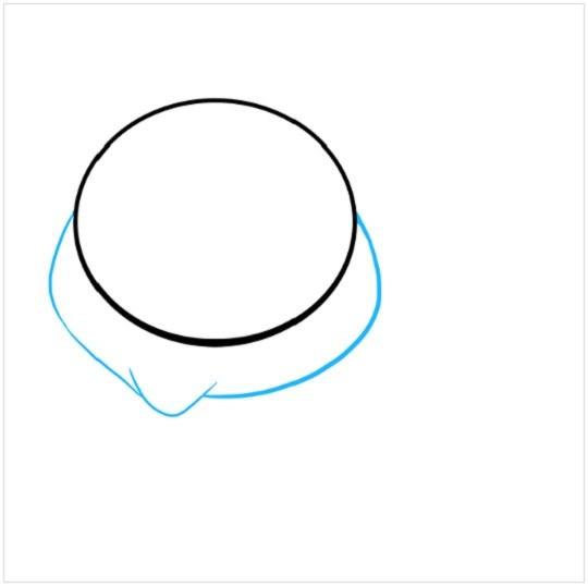 آموزش نقاشی بچه خوک مرحله دوم