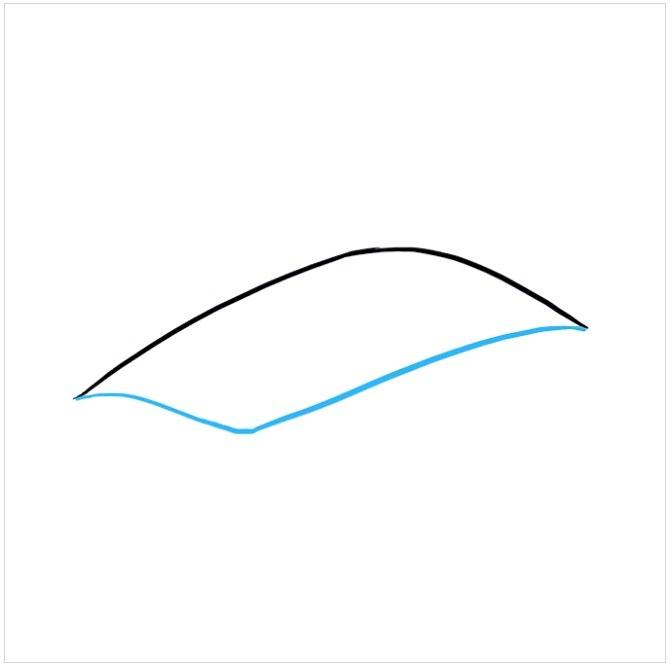 آموزش نقاشی چشم اژدها مرحله دوم