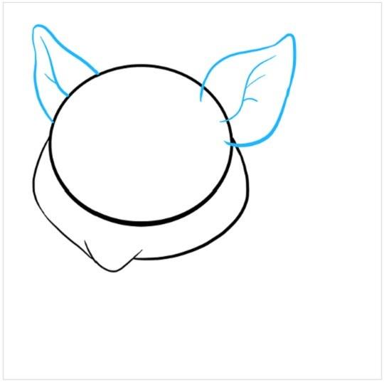 آموزش نقاشی بچه خوک مرحله سوم