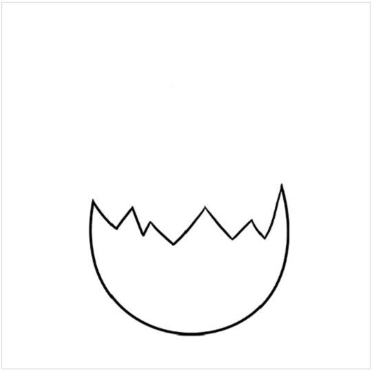 آموزش نقاشی جوجه عید پاک مرحله سوم