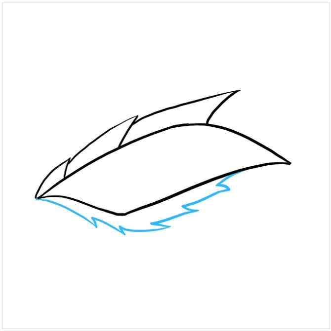 آموزش نقاشی کودکانه چشم اژدها مرحله چهارم