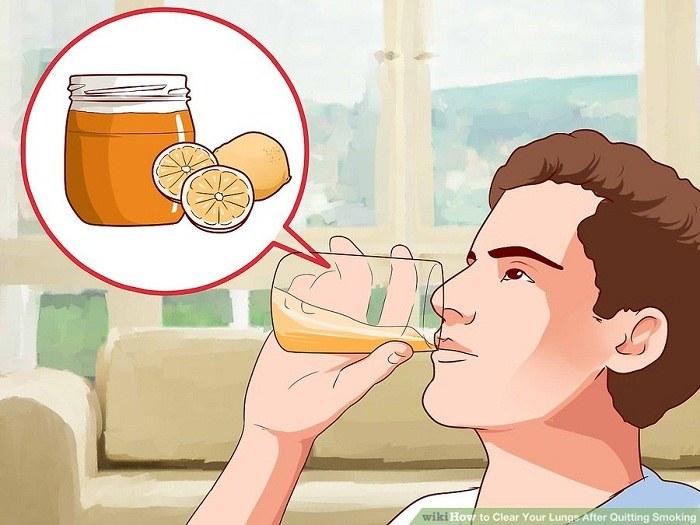 نوشیدن آب لیموی گرم و عسل